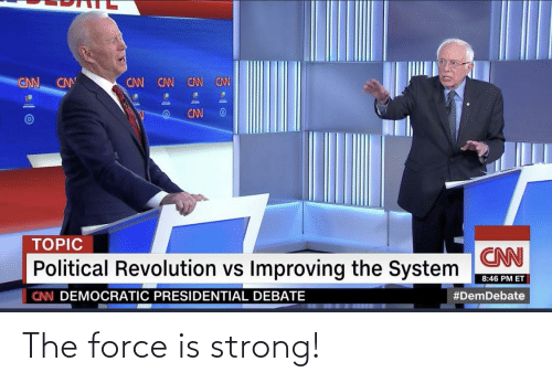 Force Is Strong: The force is strong!