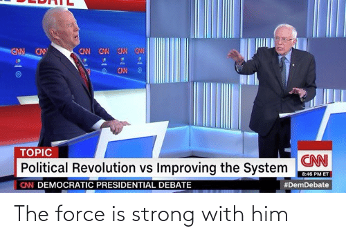 Force Is Strong: The force is strong with him