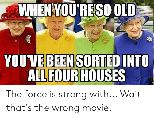 Force Is Strong: The force is strong with... Wait that's the wrong movie.