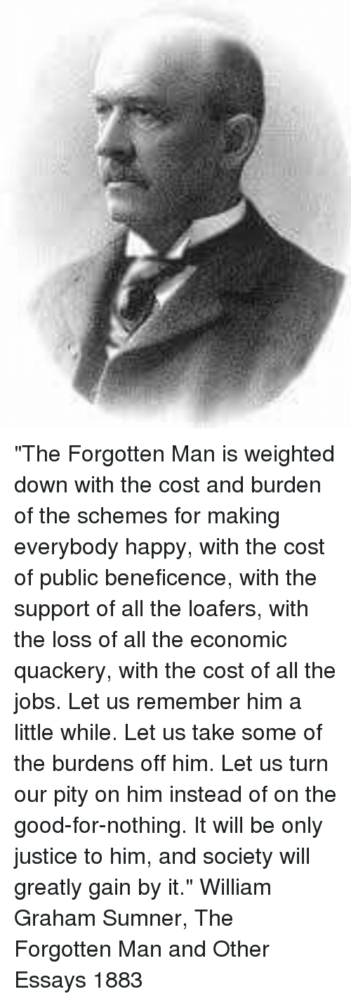 essay the forgotten man