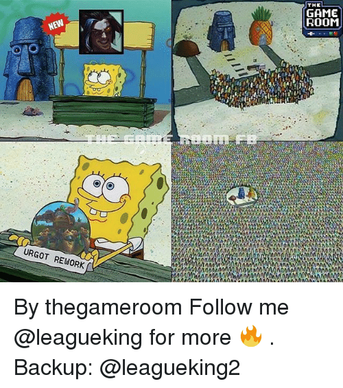 anas: THE  GAME  ROOM  URGOT REWORK  ANA By thegameroom Follow me @leagueking for more 🔥 . Backup: @leagueking2
