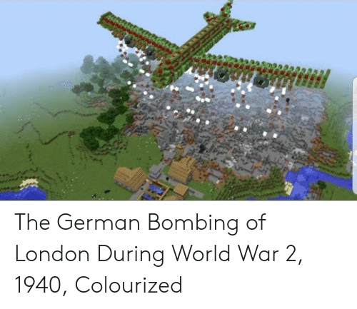 bombing: The German Bombing of London During World War 2, 1940, Colourized