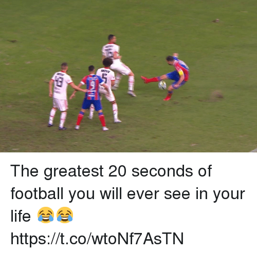Football, Life, and Soccer: The greatest 20 seconds of football you will ever see in your life 😂😂 https://t.co/wtoNf7AsTN