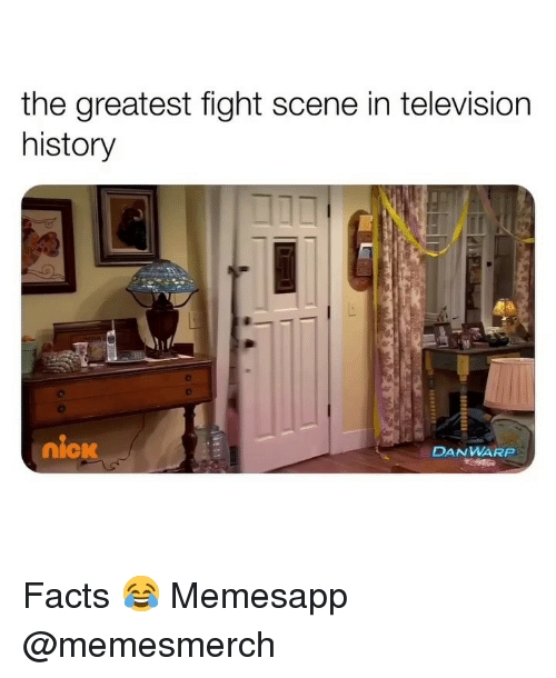 Facts, Memes, and History: the greatest fight scene in television  history  DANWARP  nick Facts 😂 Memesapp @memesmerch