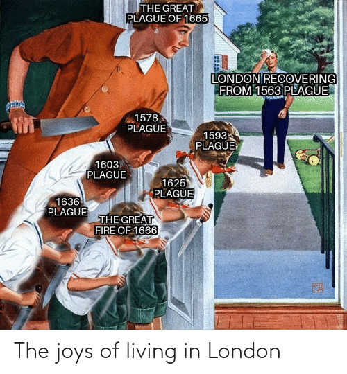 Living: The joys of living in London