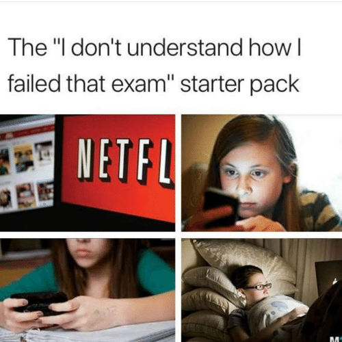 "Starter Pack, How, and Starter: The ""l don't understand how l  failed that exam"" starter pack  ETFU"
