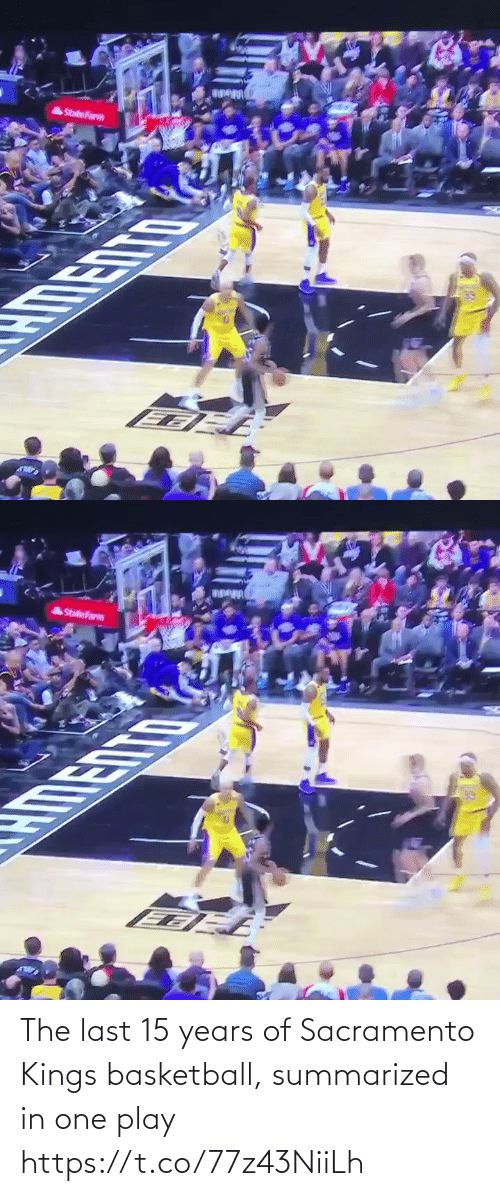 Sacramento: The last 15 years of Sacramento Kings basketball, summarized in one play https://t.co/77z43NiiLh