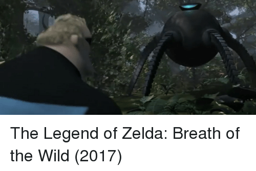 Wild, Zelda, and Legend of Zelda: The Legend of Zelda: Breath of the Wild (2017)
