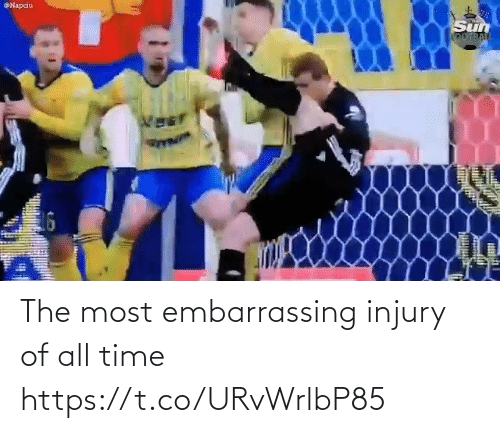 All Time: The most embarrassing injury of all time  https://t.co/URvWrlbP85