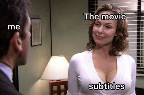 Movie, The, and Subtitles: The movie  me  subtitles