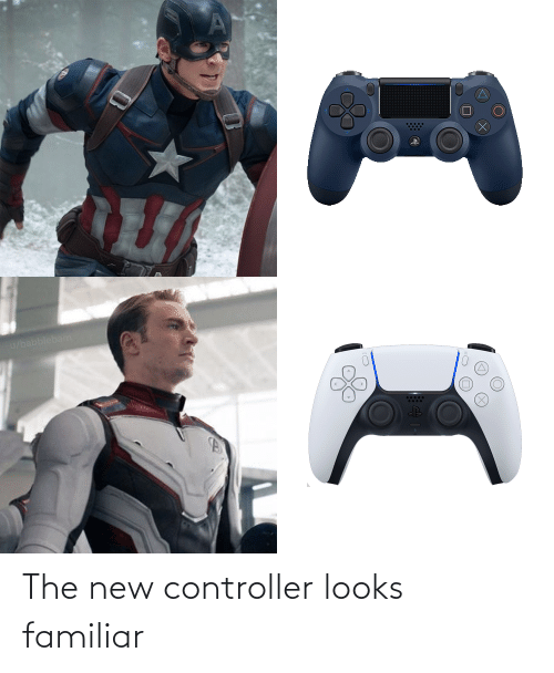 new: The new controller looks familiar
