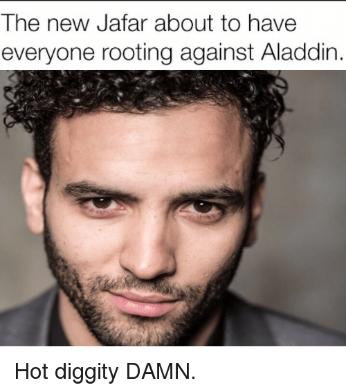 jafar: The new Jafar about to have  everyone rooting against Aladdin <p>Hot diggity DAMN.</p>