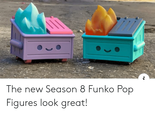 Pop, Funko Pop, and New: The new Season 8 Funko Pop Figures look great!