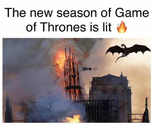 Game of Thrones, Lit, and Game: The new season of Game  of Thrones is lit