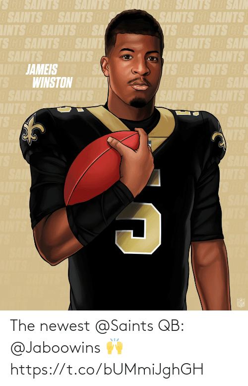 newest: The newest @Saints QB: @Jaboowins 🙌 https://t.co/bUMmiJghGH