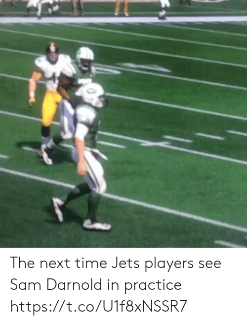 Sports, Jets, and Time: The next time Jets players see Sam Darnold in practice https://t.co/U1f8xNSSR7