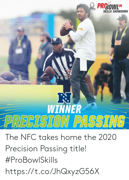 Https T: The NFC takes home the 2020 Precision Passing title! #ProBowlSkills https://t.co/JhQxyzG56X