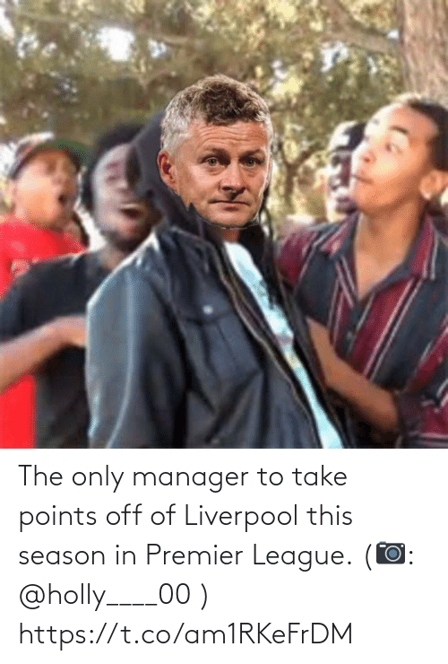 Take: The only manager to take points off of Liverpool this season in Premier League. (📷: @holly____00 ) https://t.co/am1RKeFrDM