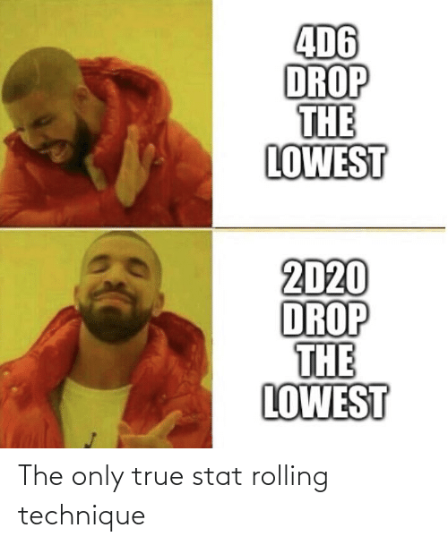 rolling: The only true stat rolling technique
