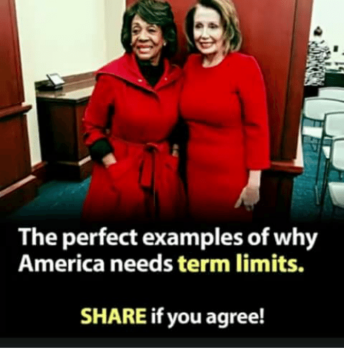 Share If You Agree: The perfect examples of why  America needs term limits.  SHARE if you agree!