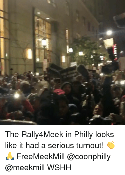 Memes, Wshh, and Meekmill: The Rally4Meek in Philly looks like it had a serious turnout! 👏🙏 FreeMeekMill @coonphilly @meekmill WSHH