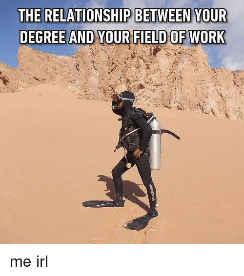 Irl, Me IRL, and Degree: THE RELATIONSHIP BETWEEN YOUR me irl