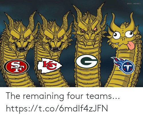 Teams: The remaining four teams... https://t.co/6mdIf4zJFN