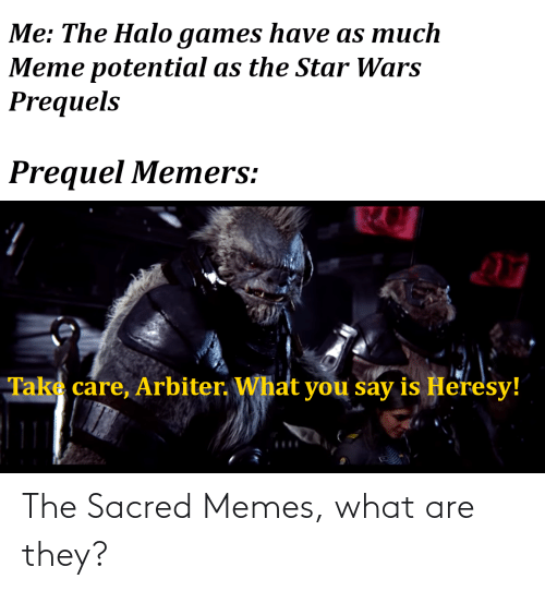 what are: The Sacred Memes, what are they?