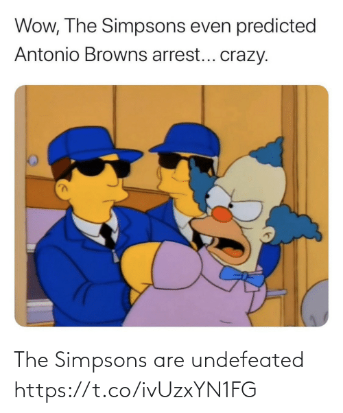 Https T: The Simpsons are undefeated https://t.co/ivUzxYN1FG