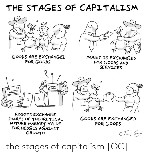 Capitalism: the stages of capitalism [OC]