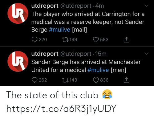 club: The state of this club 😂 https://t.co/a6R3j1yUDY