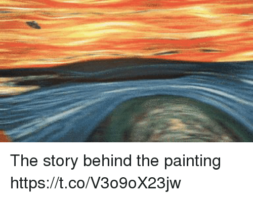 Painting, Story, and The: The story behind the painting https://t.co/V3o9oX23jw