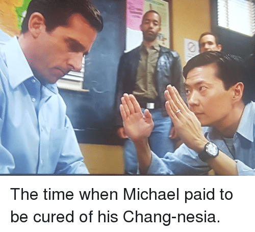 The Office, Michael, and Time