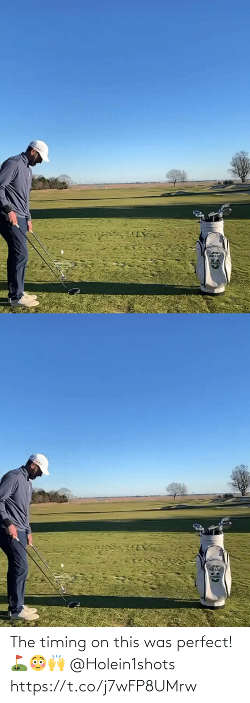 Https T: The timing on this was perfect! ⛳️😳🙌 @Holein1shots https://t.co/j7wFP8UMrw