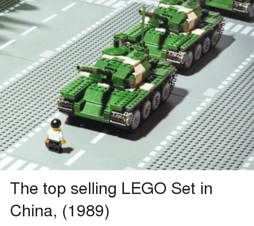 Lego, China, and Top: The top selling LEGO Set in China, (1989)