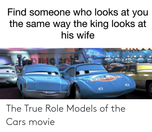 cars: The True Role Models of the Cars movie