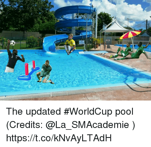 Memes, Pool, and 🤖: The updated #WorldCup pool  (Credits: @La_SMAcademie ) https://t.co/kNvAyLTAdH