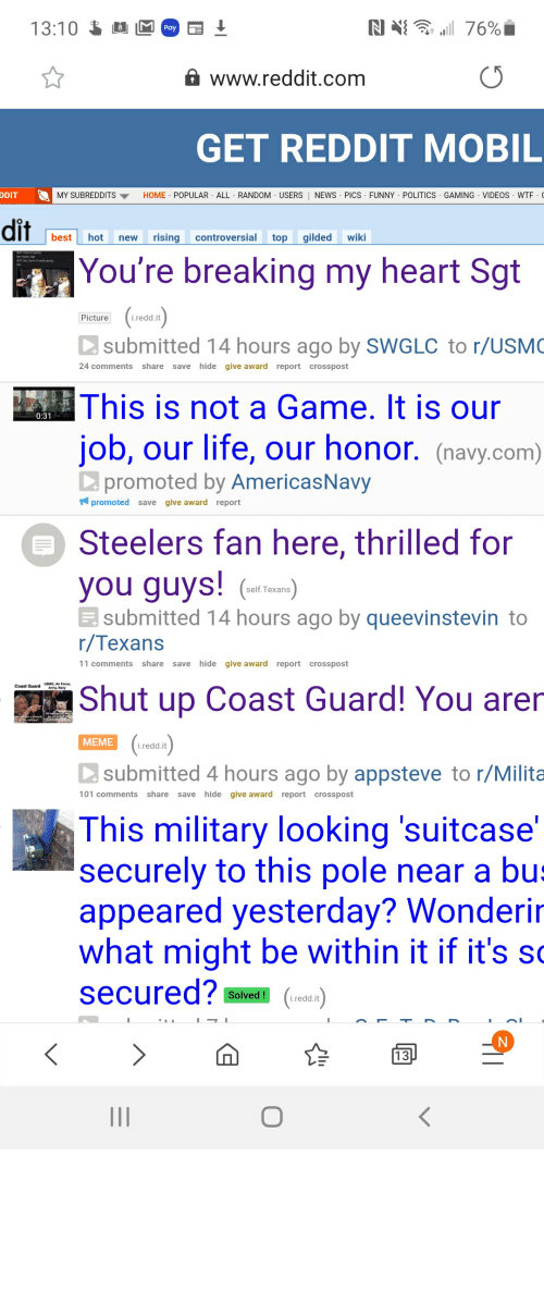 AF: The US Navy being boot AF with their advertising on Reddit.