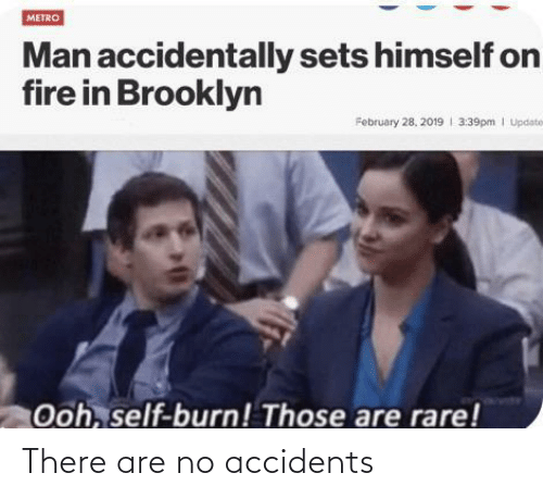 no: There are no accidents