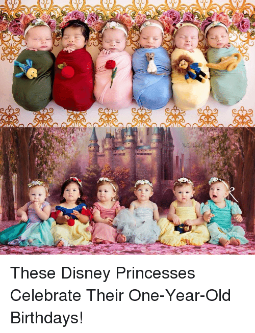 Disney, Old, and One: These Disney Princesses Celebrate Their One-Year-Old Birthdays!