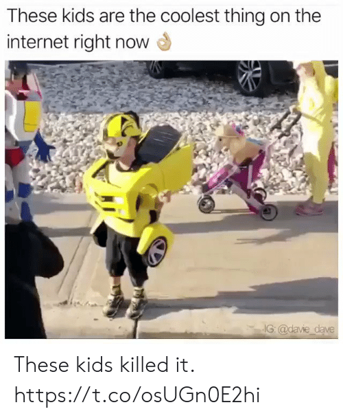 Killed It: These kids are the coolest thing on the  internet right now  IG: @davie dave These kids killed it. https://t.co/osUGn0E2hi