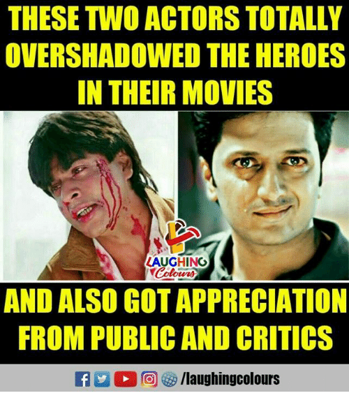 Movies, Heroes, and Indianpeoplefacebook: THESE TWO ACTORS TOTALLY  OVERSHADOWED THE HEROES  IN THEIR MOVIES  LAUGHING  Colowrs  AND ALSO GOT APPRECIATION  FROM PUBLIC AND CRITICS  /laughingcolours