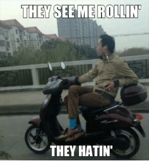Rollin They Hatin: THEY SEEME ROLLIN  THEY HATIN