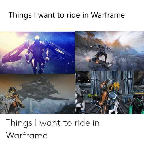 Warframe and Warframe Meme on Conservative Memes