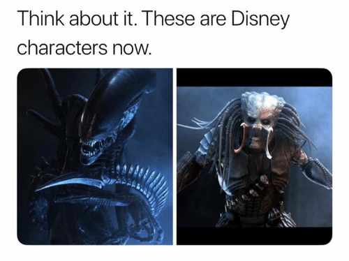 Disney, Memes, and 🤖: Think about it. These are Disney  characters now.