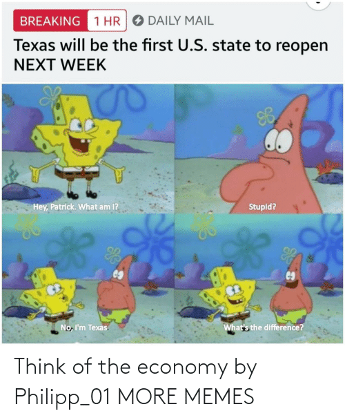 economy: Think of the economy by Philipp_01 MORE MEMES