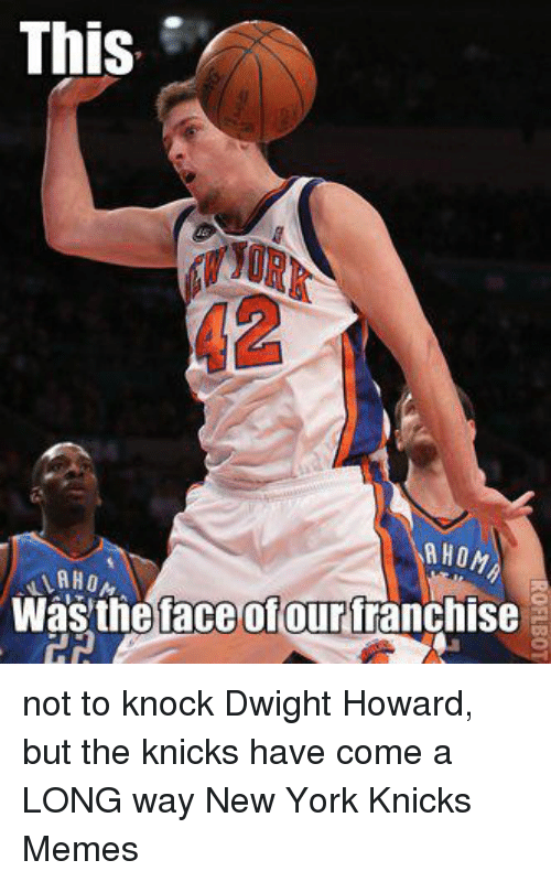 This A Hon Was The Face Ofour Franchise Not To Knock Dwight Howard