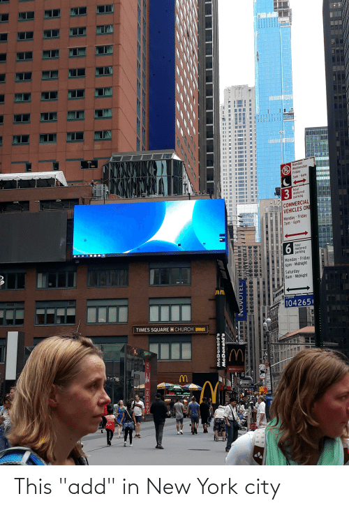 """in-new-york-city: This """"add"""" in New York city"""