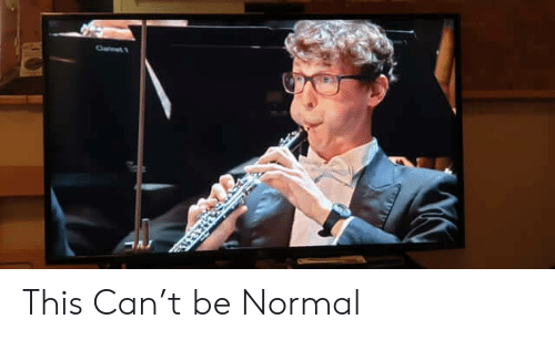 Can, Normal, and This: This Can't be Normal