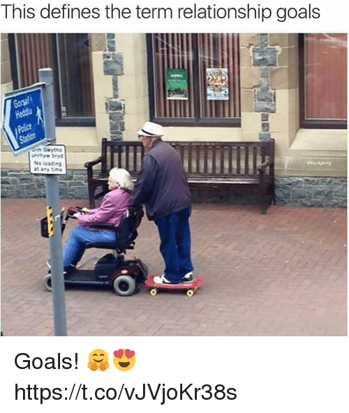 Goals, Memes, and Relationship Goals: This defines the term relationship goals  No toadio  t any ime Goals! 🤗😍 https://t.co/vJVjoKr38s
